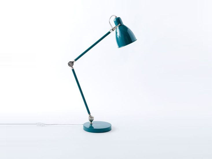 10 Easy Pieces: Industrial-Style Desk Lamps, Color Edition - Best 25+ Teal Desk Lamps Ideas On Pinterest Teal Bedroom Walls