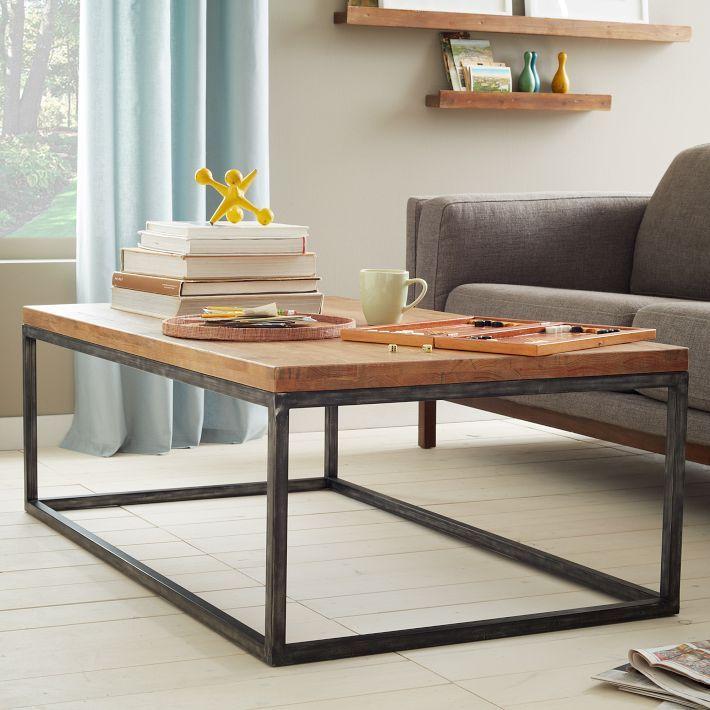 Box Frame Coffee Table - Café