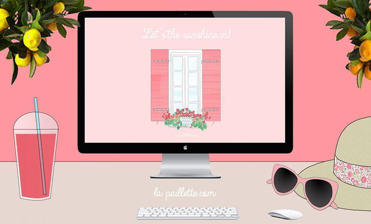 La Paillette - Blog Rennes Illustrations Mode Lifestyle: Fonds d'écran balcon fleuri