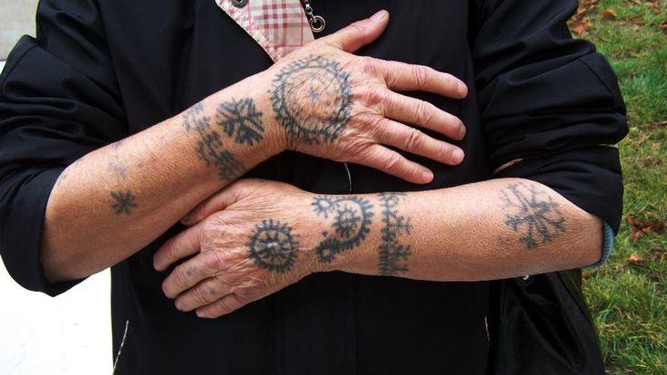 Croatian Catholic tattoo , Jajce area Bosnia and Herzegovina   by croatiantattoo