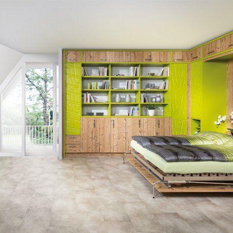 Schlafzimmer Mit Klappbett Für Mehr Freien Platz! | P.MAX Massmöbel  Tischlerqualität