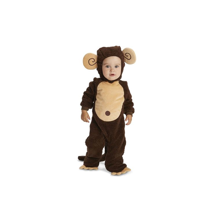 Baby Lovely Monkey Costume, Infant Unisex, Size: 6-12MONTHS, Multicolor