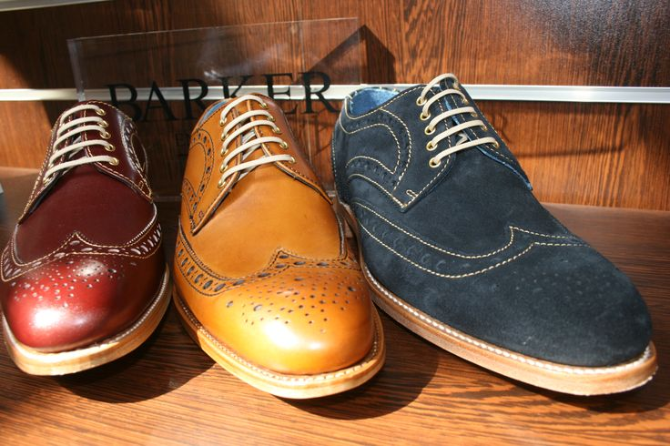 Our Barker Thompson brogues in stock now
