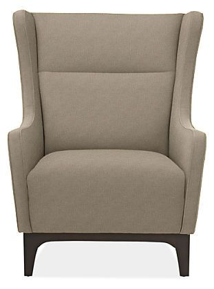 Marcel Chair & Ottoman in Vance Fabric - Chairs - Living - Room & Board