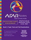 Book 1 is a set of 16 short topic tests spread over Units 3&4, with 3 full practice exams at the end. The book also contains the model solut...