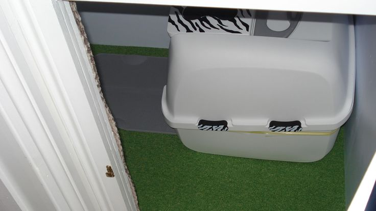 17. Plenty of room for the biggest of litter trays