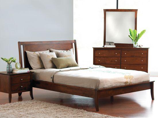 Brasilia Bed Sd Cherry Stain Bed 329 2 Night Stands 280 Dresser 400 Bedroom Setsmaster Bedroomqueen Bedsscandinavian