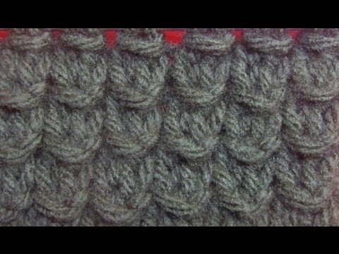How to Knit The Bamboo Stitch - YouTube