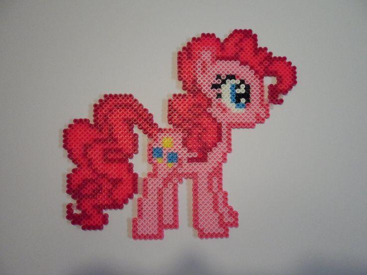 MLP Pinkie Pie hama perler beads by SunsRadiance on deviantART