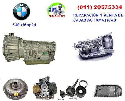 GIGANTUS: Reparación de caja automática BMW 540