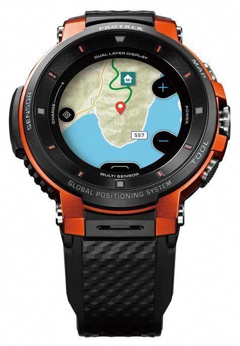 2018 年の casio protrek smart wsd f30 watch now has more wearable