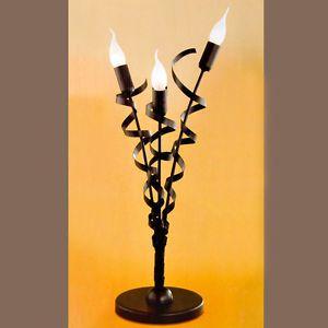 Luce da tavolo 68cm Eglo Vesuvo marrone Antico Notte Lampada Casa di campagna