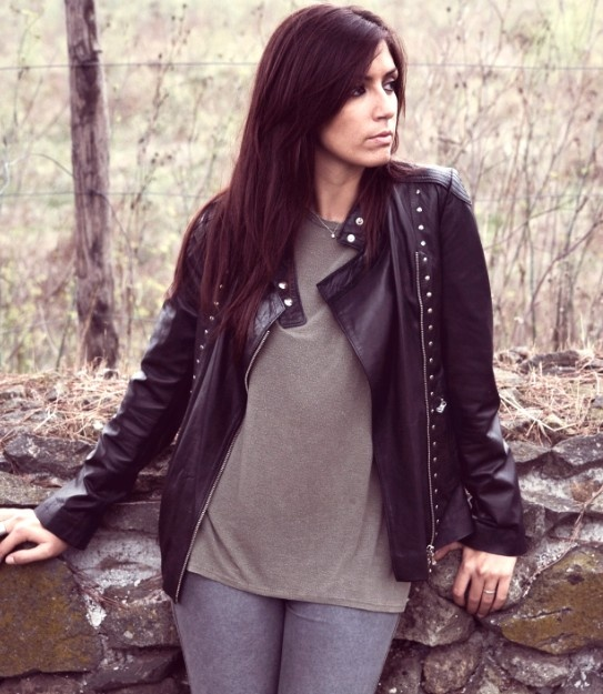 Rock leather jacket. Available in various colors and sizes. Euro 250 / 330 dollars. Info at otherweiss@gmail.com