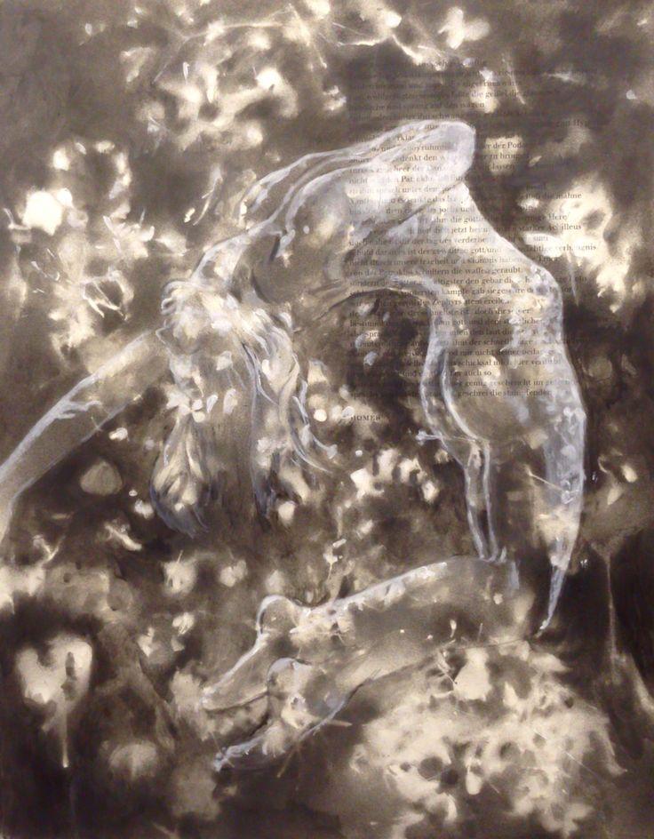 #homer#43x56#alkyd,acrylic#paper#rithva.dk#