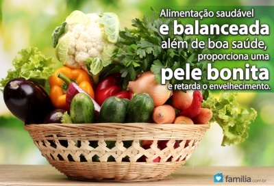Familia.com.br | Alimentos que ajudam a ter uma pele bonita.