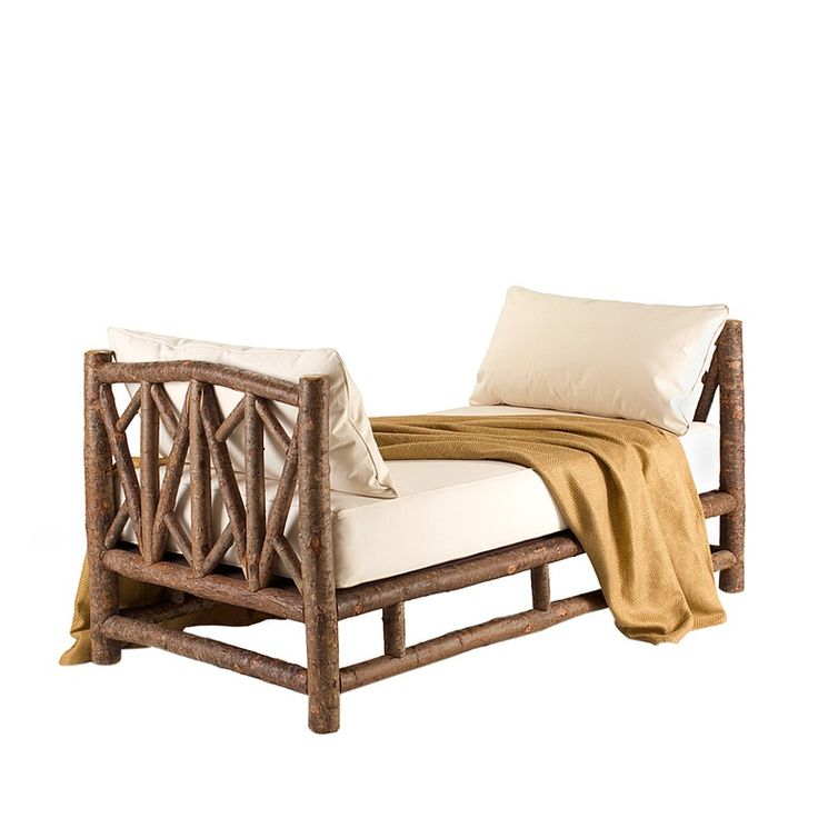 Rustic Daybed 4054  Traditional, Transitional, Rustic  Folk, Organic, Wood, Daybed by La Lune Collection
