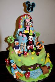 TORT CLUBUL LUI MICKEY MOUSE. MICKEY MOUSE CAKE