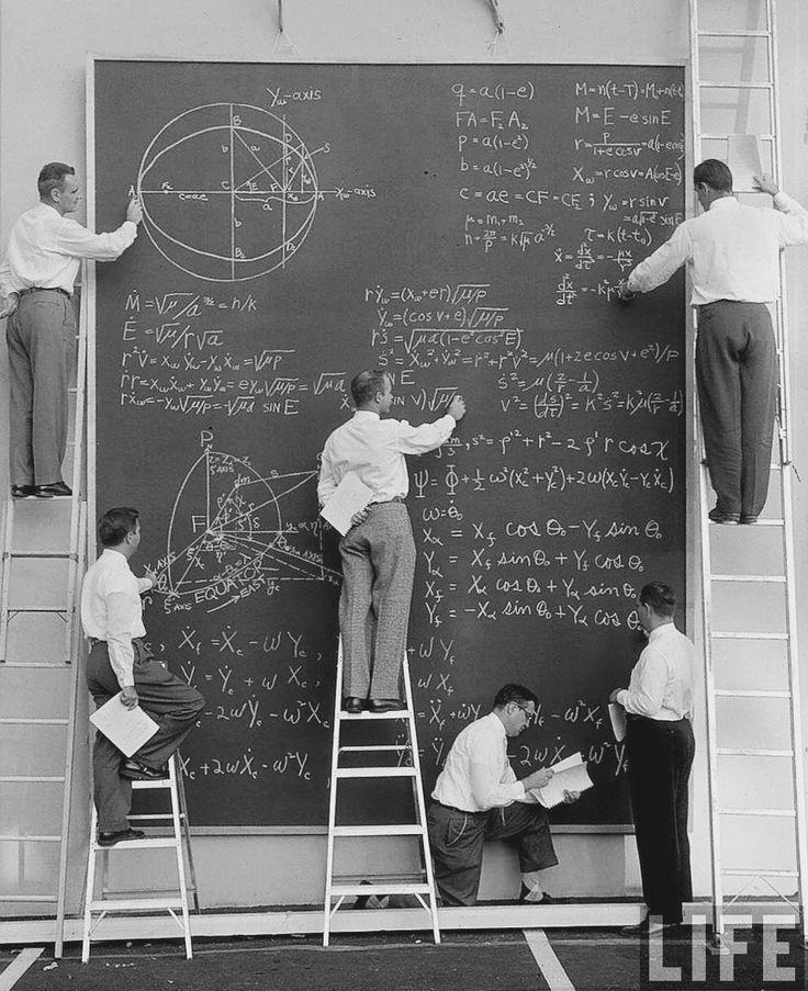 NASA en 1960s Foto por J.R Eyerman para la revista LIFE