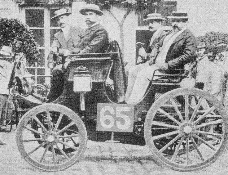 In 1894, Pierre Giffard, editor of Le Petit Journal, organised the world's first motoring competition from Paris to Rouen to publicise his newspaper, to stimulate interest in motoring and to develop French motor manufacturing. Sporting events were a tried and tested form of publicity stunt and circulation booster. The paper promoted it as 'Le Petit Journal' Competition for Horseless Carriages (Le Petit Journal Concours des Voitures sans Chevaux) that were not dangerous, easy to drive, and…