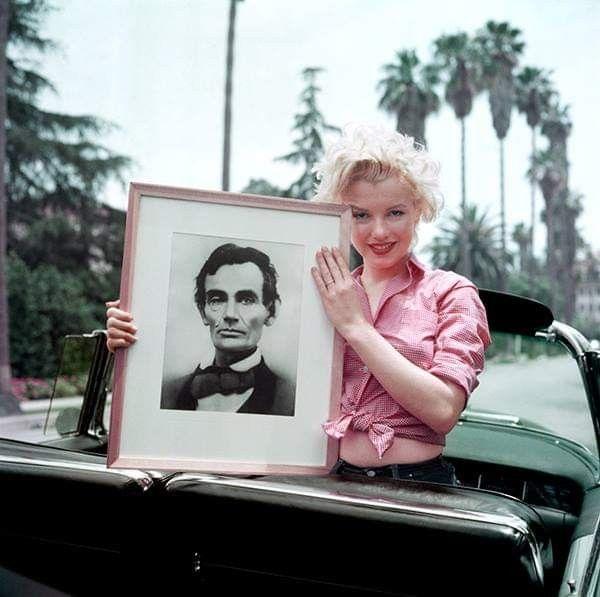 President Abraham Lincoln Was Born Feb 12 1809 Marilyn Monroe