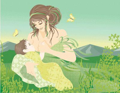 Breastfeeding art NOT MINE