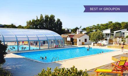 Camping 4* à Noirmoutier avec parc aquatique