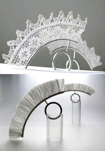 lace rings by Poland's Małgosia Kalińska