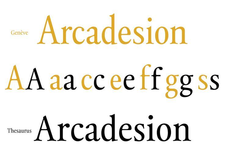 Thesaurus: Inspired from Geneva's Estiennes typographic heritage | Typeroom.eu