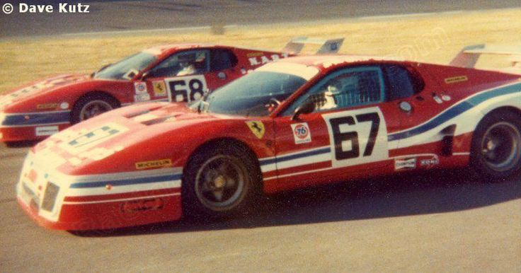Daytona 24 hours 1979 #67 - Ferrari 512 BB #26685 - JMS Racing-Pozzi