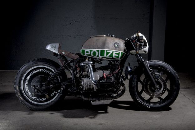 BMW Police Bike – VTR'S Blown R80