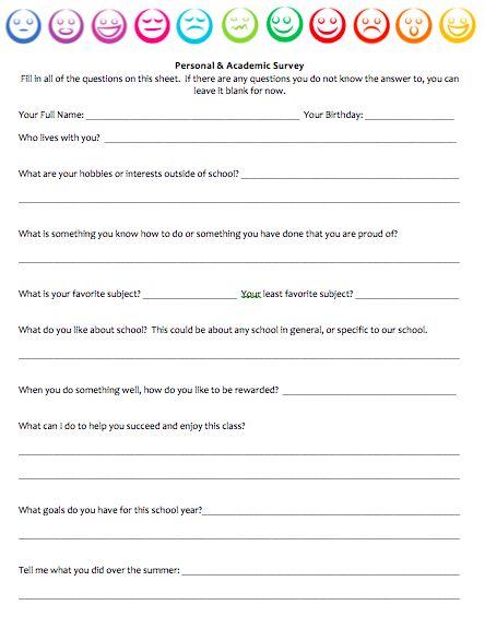 The  Best Student Survey Ideas On   Student Interest