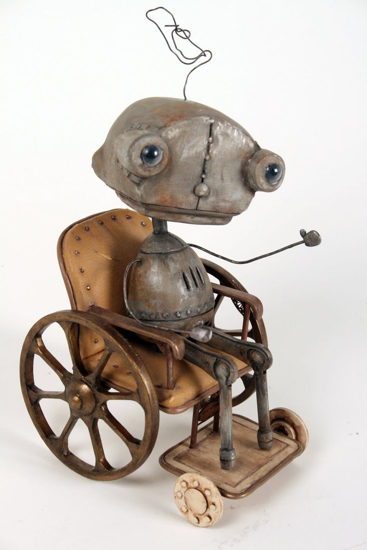 Robot model from Machinarium (Youlden S., blogspot, 2012)