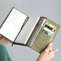 Pochette Leather Diary Wallet Refill