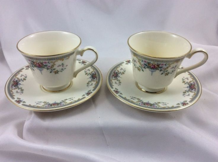 Set of 2 1981 Juliet Royal Doulton Fine China Cups & Saucers New with Tags NOS #RoyalDoulton