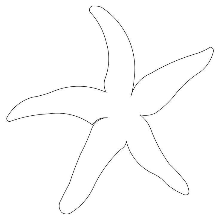 Starfish Template | Starfish Pattern