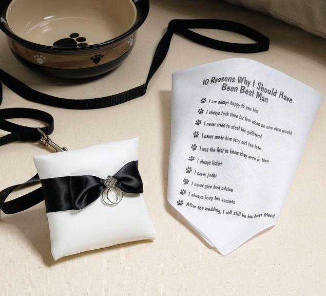 """4"""" Dog Ring Pillow"""