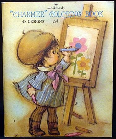 Vintage Hallmark Charmer Picture Coloring By Vintagejustforyou Still Have Thiskeepsake Of Me