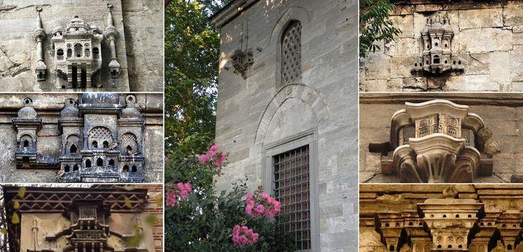 Osmanlı mimarisinde kuş evleri...