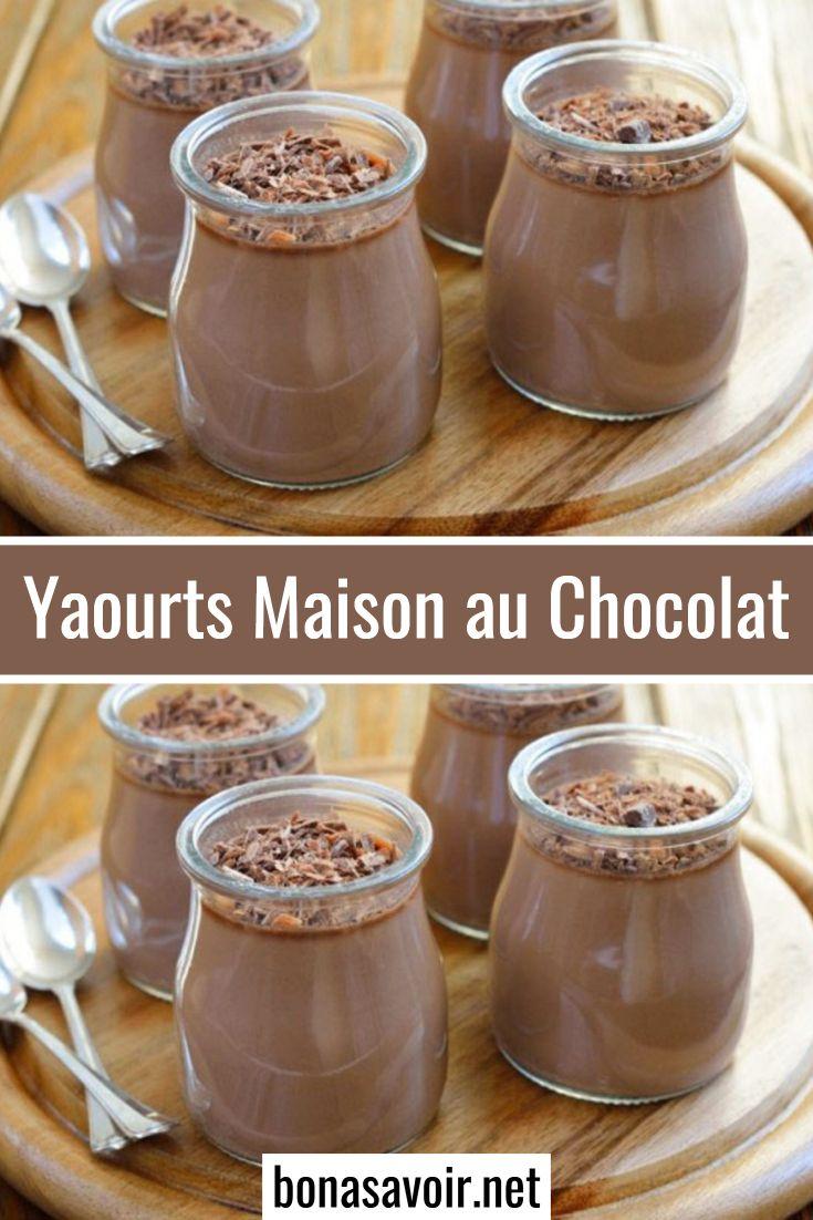 Yaourts Maison au Chocolat   Desserts, Food and drink, Low carb yogurt