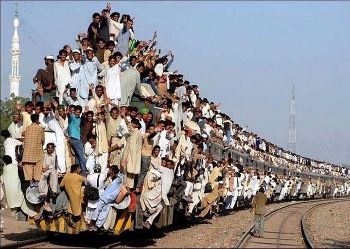 Riddle: Where is the train??