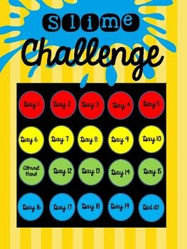 Slime Challenge (Behavior)