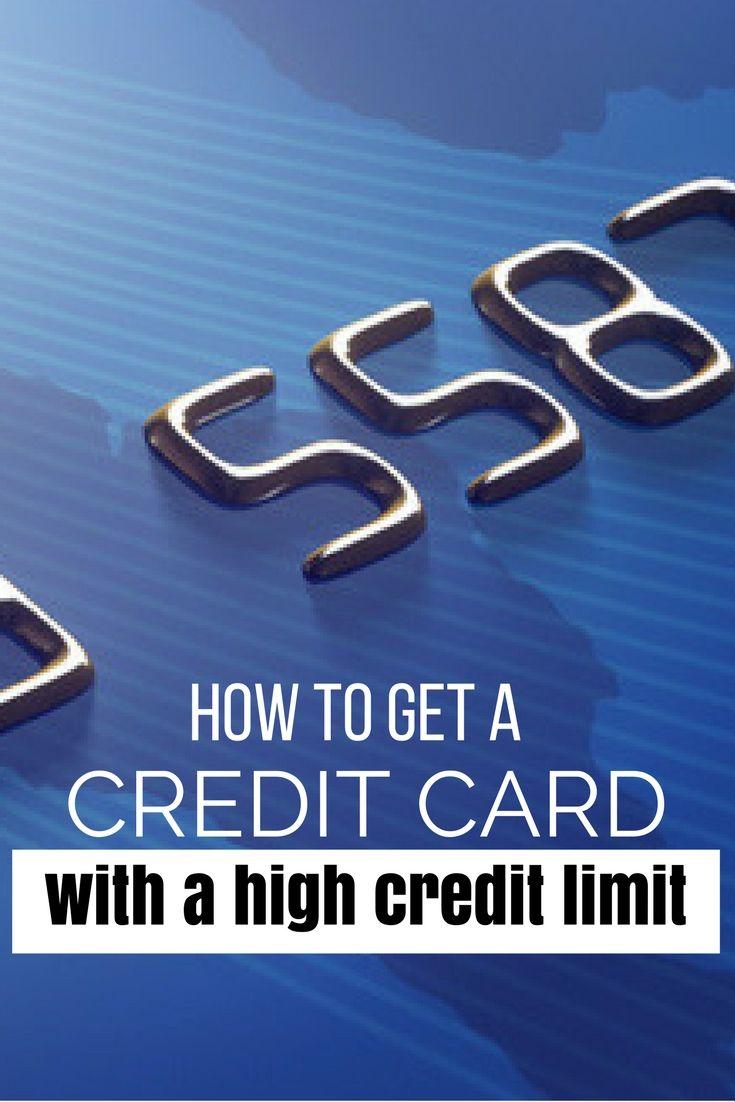 high limit visa card