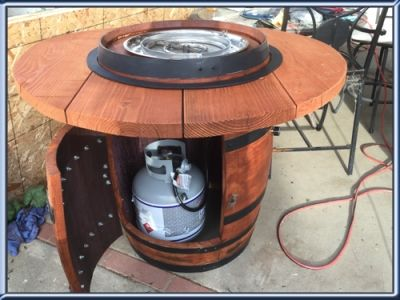 barrel Fire Pit DIY - Buscar con Google