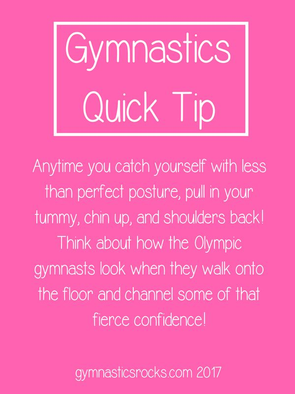 Gymnastics Quick Tips – Gymnastics Rocks!