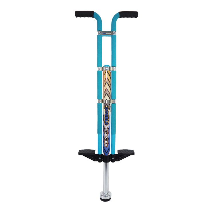 Appreciate a bright day by having a blast outside with this Grand Forward double pogo stick. This fun toy lets your little one get a healthy workout and develop body balance while hopping and messing