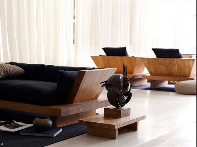 Urban Zen Furniture - The purity of design and the simple elegance of rich  teak wood reflect my own design aesthetics. I wanted to bring Bali home, ...