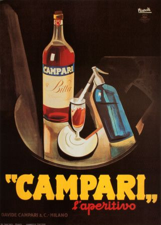 Try a Campari with a splash of soda and a slice of orange to greet your guests at your next dinner party