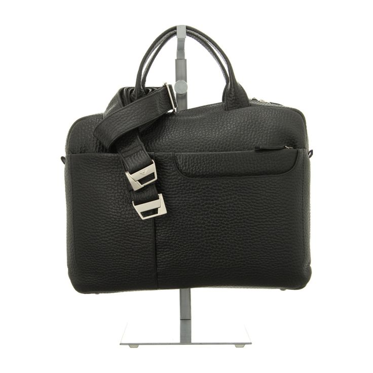 NEU: Voi Leather Design Handtaschen Laptoptasche - 20900 SZ - schwarz -