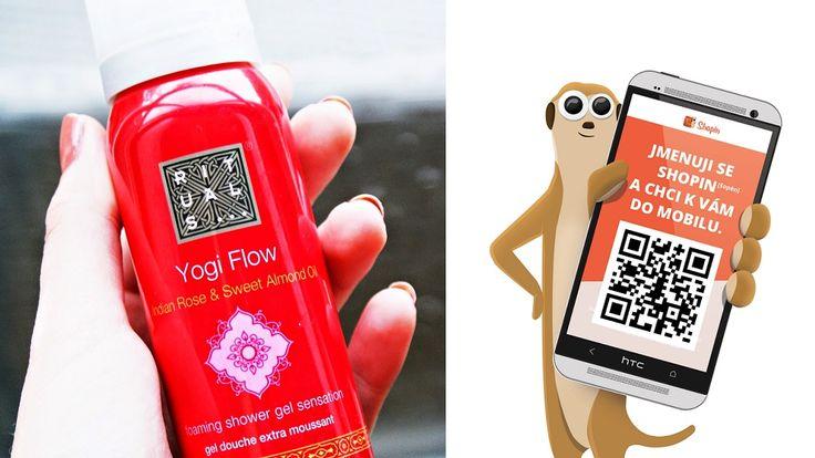 SHOPIN PŘINÁŠÍ - SOUTĚŽ S RITUALS Ve spolupráci s kosmetickým řetězcem RITUALS, jsme pro vás připravili soutěž o třicet dámských sprchových pěn Yogi Flow, o tři sety skin care for woman Rituals a jeden kosmetický set skin care for men. Více informací se dozvíte v mobilní aplikaci SHOPIN - Aplikaci si můžete stáhnout do svého chytrého telefonu na www.shopinapp.net/cz, na Google Play nebo Appstore.