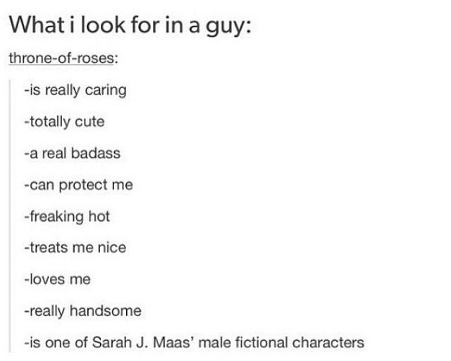 I will accept Rowan, Aedion, Chaol, Dorian or Sam please. <<< Let's not forget Illias from The Assassin's Blade.